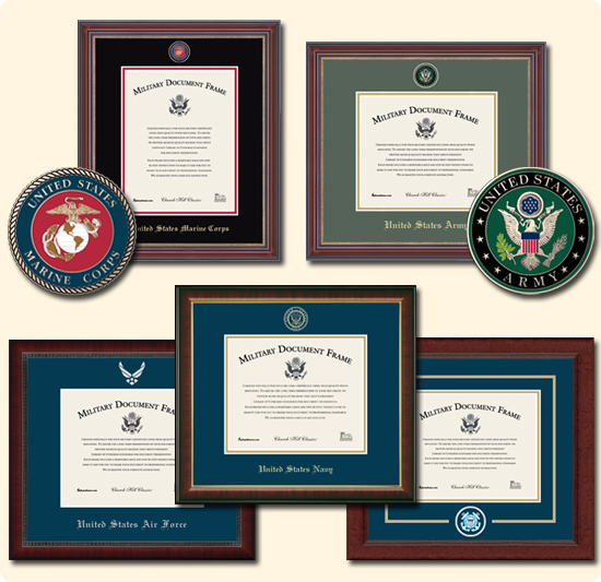 United States Military Frames