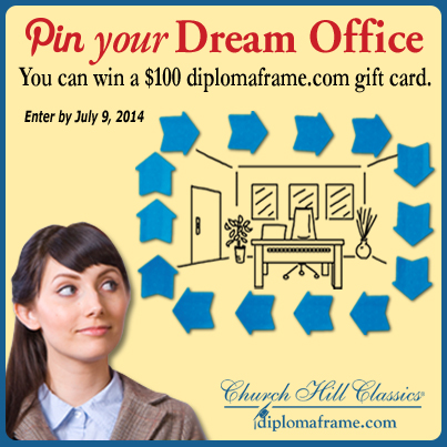 Frame My Dream Office Pinterest Contest