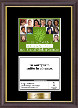The Woman's Advantage Frame