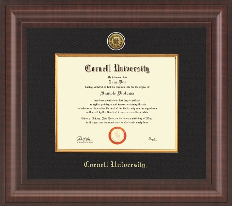 Preserve your diploma with a diploma frame