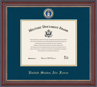 Air Force Masterpiece Diploma Frame