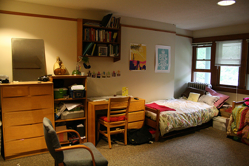 Beautiful Dorm Room With Posters Part 14