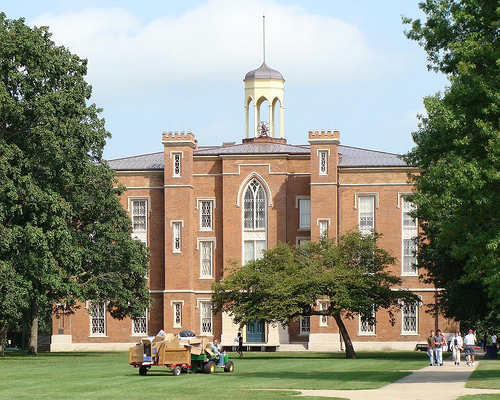 Old Main at Knox College