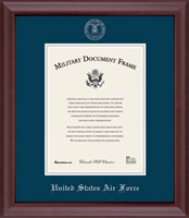 Air Force Certificate Frame