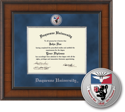 Duquesne University Masterpiece Diploma Frame
