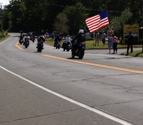 9/11 Tribute Motorcycle Ride in Connecticut