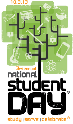 National Student Day Logo