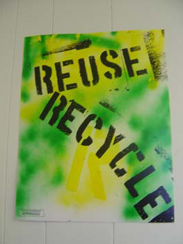 Reuse. Recycle!