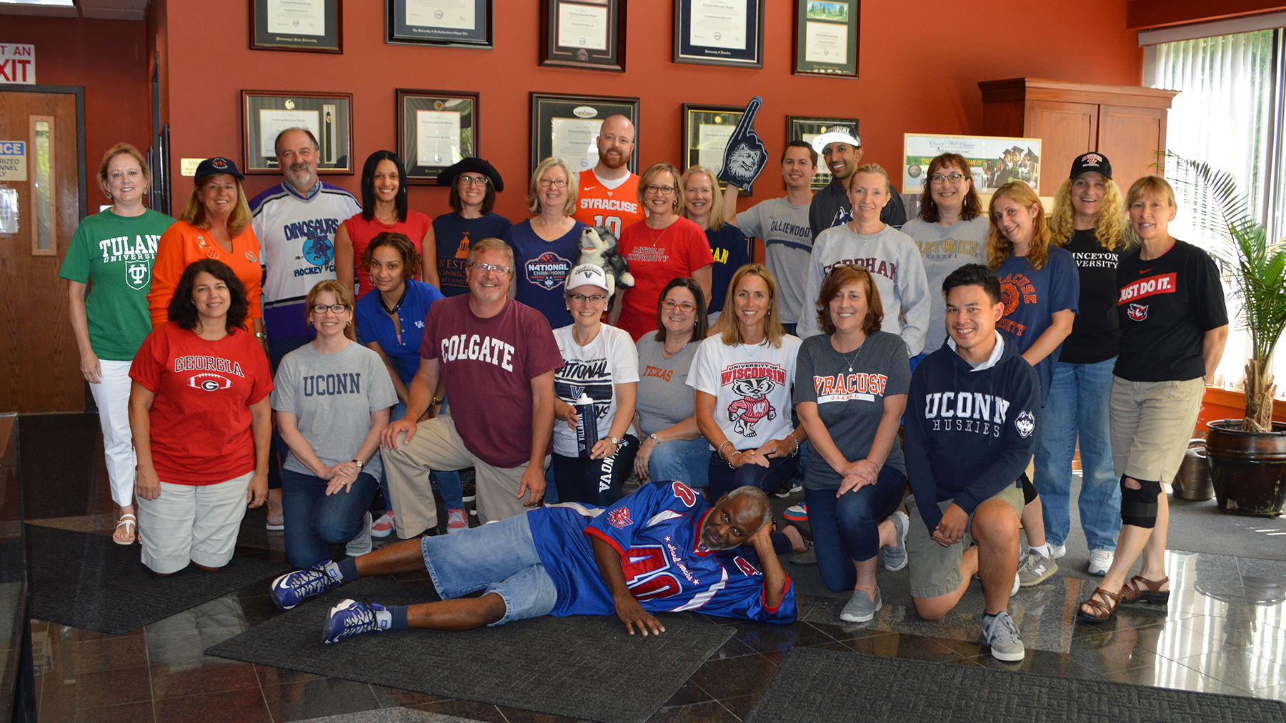 College Colors Day Photo at Church Hill Classics