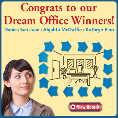 Frame My Dream Office Contest Winners