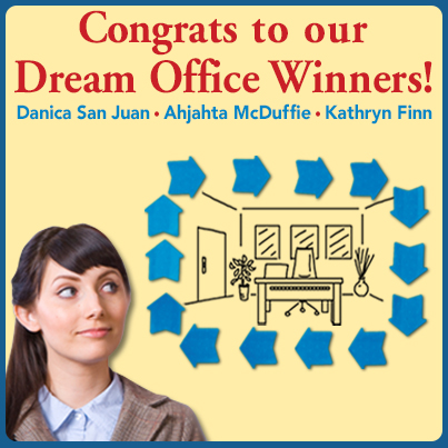 Frame My Dream Office Pinterest Contest Winners