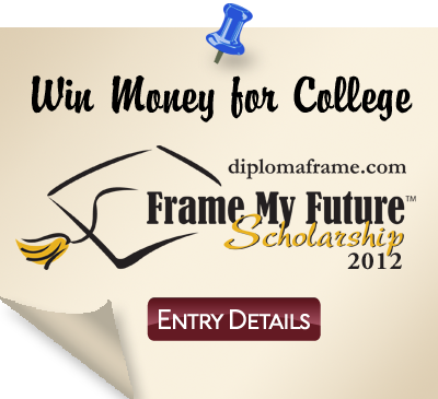 Frame My Future Scholarship Contest 2012