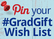 GradGift Wish List Pinterest Contest