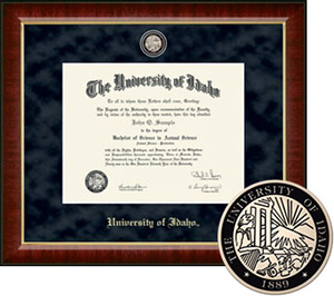 University of Idaho Regal Diploma Frame