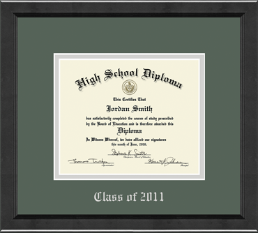 High School Diploma Frame