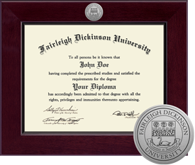 Fairleigh Dickinson University Century Diploma Frame