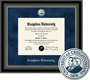 Creighton University Regal Diploma Frame