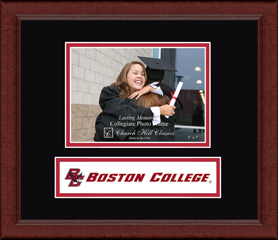 Boston College Lasting Memories Banner Photo Frame