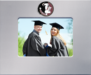 Florida State University MedallionArt Classics Photo Frame in Silver