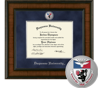 Duquesne University Presidential Masterpiece Diploma Frame