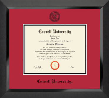 Winning Colors Edition Cornell University Diploma Frame