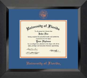 Winning Colors Edition University of Florida Diploma Frame
