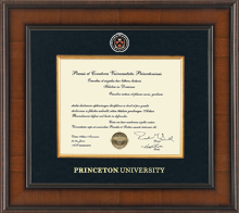 Presidential Style Diploma Frame in Madison