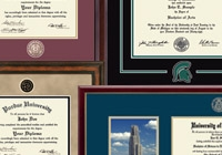 Diploma Frame Styles