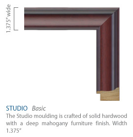 Studio Moulding - Mahogany furniture finish