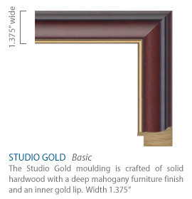 Studio Gold - Mahogany furniture finish