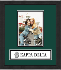 Kappa Delta Banner Photo Frame