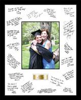 shop graduation autograph frames