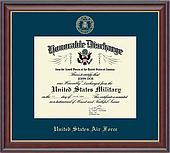 Honorable Discharge Certificate Frames - Church Hill Classics