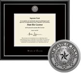 Professional License & State Seal Frames