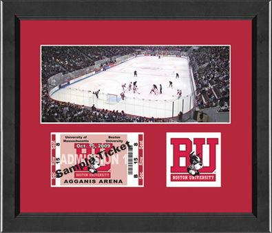 Boston University Ticket Frame