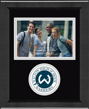 Circle Logo Photo Frame Horizontal - Wilton High School