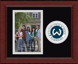 Circle Logo Photo Frame Vertical - Wilton High School