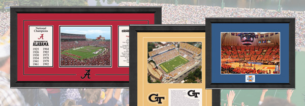 College Sports Frames
