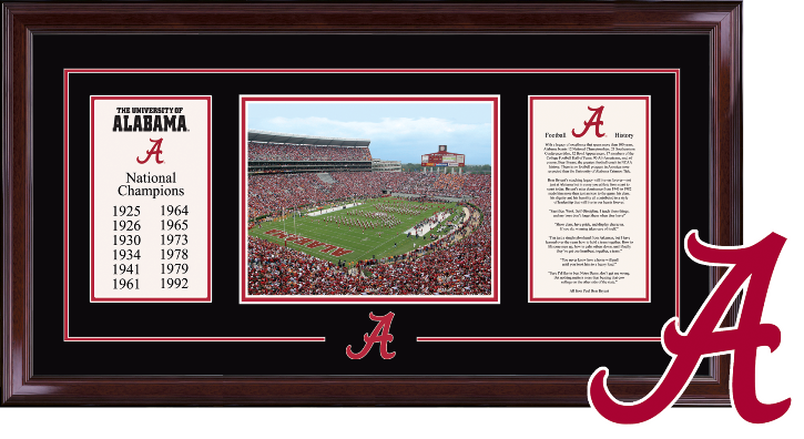 Legacy Frame - University of Alabama