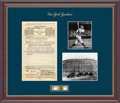 New York Yankees Frame