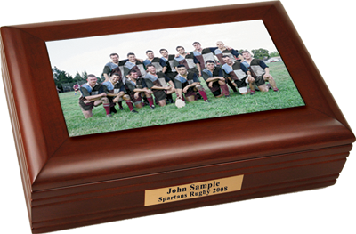 Rugby Team Photo Box