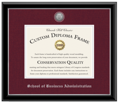 For College University Of Maryland University College Diploma Frames