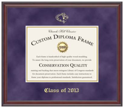 frame your high school diploma