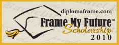 """Frame My Future"" Scholarship Contest 2010"