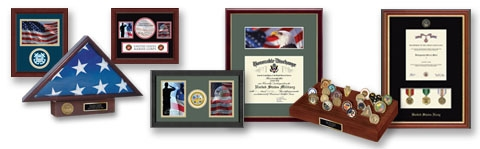 Military Frames and Display-Cases