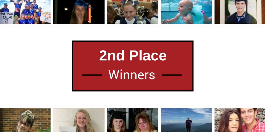 second prize winners for proudest moments 2016
