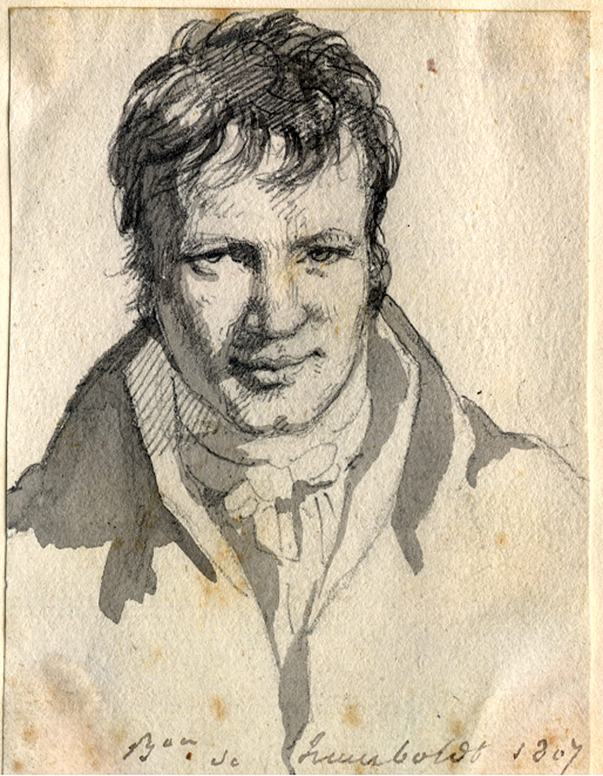 Sketch of Alexander Von Humboldt