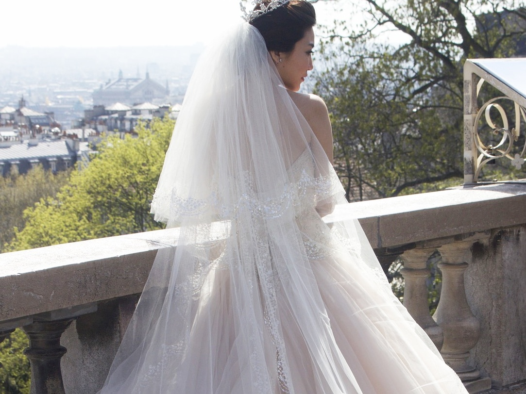 Preserving your wedding dress chc blog for Frame your wedding dress