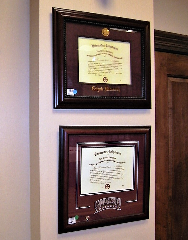 Choosing the right mat church hill classics diploma frames on wall jeuxipadfo Image collections
