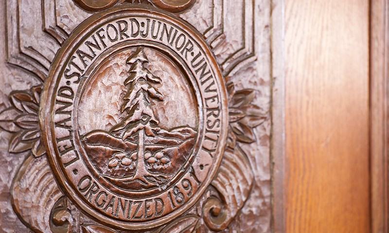 stanford-seal-on-door